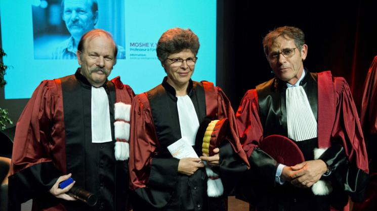 Vardi awarded honorary doctorate by Université Grenoble Alpes